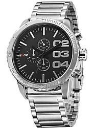 baratos -Homens Relógio Esportivo / Relógio de Moda / Relógio Elegante Couro Legitimo Banda Amuleto / Casual Cores Múltiplas