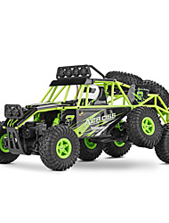 abordables -Coche de radiocontrol  WL Toys 18628 2.4G Escalada de coches Off Road Car Alta Velocidad 4WD Drift Car Buggy 1:18 Brush Eléctrico 10 KM /