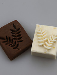 Leaves Shape DIY Handmade Soap Chapter Seals Tool Design
