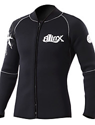 SLINX Men's Women's Unisex 3mm Wetsuits Dive Skins Waterproof Thermal / Warm Quick Dry Windproof Breathable Tactel Coolmax Memory Foam