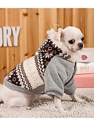 Hund Kleider Hundekleidung Lässig/Alltäglich Sport Britisch Grau