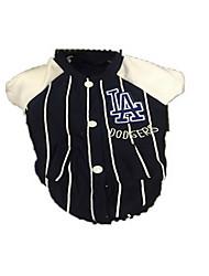 Hund Mäntel Hundekleidung Atmungsaktiv Sport Streifen Weiß Schwarz Kostüm Für Haustiere