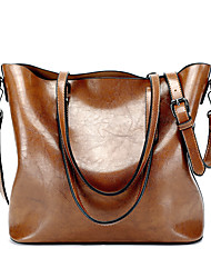 cheap -Women Bags PU Shoulder Bag for Wedding Event/Party Casual Sports Formal Outdoor Office & Career All Seasons Black Wine Brown Dark Red