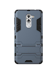 For Huawei Honor 6X Mate 9 Case Cover Shockproof with Stand Back Cover Solid Color Hard PC Mate 9 Pro  Enjoy 6 Enjoy 6s G9 Plus Navo