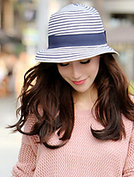 Недорогие -Для женщин Для женщин Винтаж На каждый день Панама Соломенная шляпа Шляпа от солнца,Соломка,Лето