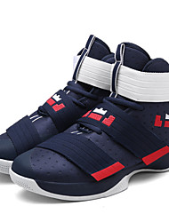 cheap -Men's Fabric Spring / Summer / Fall Comfort Athletic Shoes Basketball Shoes Slip Resistant Black / Blue / White / Green / Black / Yellow