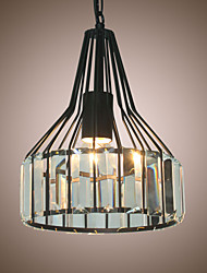 Pendant Light ,  Modern/Contemporary Traditional/Classic Vintage Lantern Others Feature for Crystal Mini Style Designers MetalLiving Room