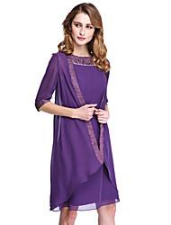 economico -cappotti / giacche da donna in chiffon da sposa / da sera. stile elegante