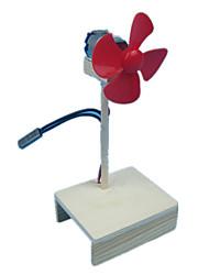 abordables -Moulin à vent Créatif Bois Plastique Métal Cadeau 1pcs