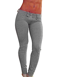 abordables -Femme Collants de Course Leggings de Sport Respirable Bas Yoga Exercice & Fitness Course/Running Serré Noir Gris Rouge S M L XL