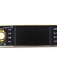 abordables -4019b 4.1 pouces 1 station din autoradio audio auto stéréo 1din usb aux fm radio Bluetooth avec caméra de recul télécommande