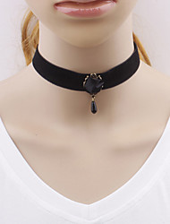 Women Gothic Harajuku exports black Roses Necklace Choker Jewelry Wedding Party Special Occasion Halloween Birthday Casual Gifts