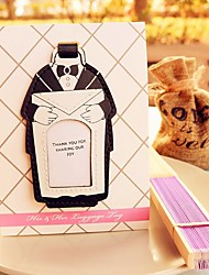 cheap -Groom Groomsman Place Card Holder and Luggage Tag DIY Wedding Decorations Beter Gifts®