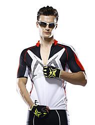 Mysenlan Cyklodres Pánské Krátké rukávy Jezdit na kole Dres Prodyšné Polyester Módní Léto