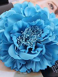 cheap -Fabric Satin Fascinators Flowers Hair Tool Headpiece Elegant Style