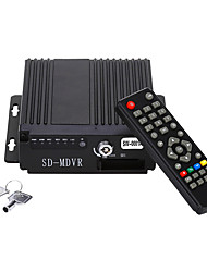 economico -mini car video automatica in tempo reale DVR mobile a 4 canali audio / avi ingresso H.264 con IR encrption telecomando