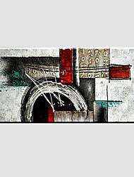 Недорогие -ручная роспись абстрактные современные, одна панель холст масляной живописи домашнее украшение