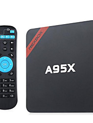 NEXBOX A95X Android 6.0 Android 5.1 Box TV Amlogic S905X 2GB RAM 8Go ROM Quad Core