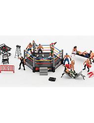 abordables -Figurines d'Action & Animaux en Peluche Modèle d'affichage Jouets Muscle Bloquer Jouets Nouveautés Articles d'ameublement Garçon 30 Pièces