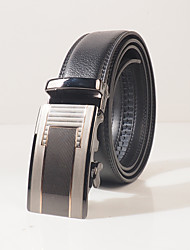Men's fashion leisure automatic belt buckle belt width is about 3.6 cm
