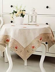 Quadrato Cucito Tovaglie , 100% Cotone MaterialeHotel Dining Table Wedding Party Decoration Cena banchetto di nozze Decor Natale Favor