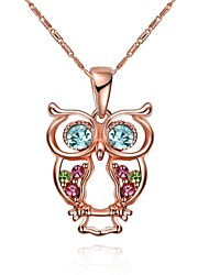 cheap -Women's Geometric Owl Personalized Geometric Unique Design Dangling Style Vintage Bohemian Basic Friendship Hip-Hop Rock Cute Style