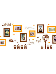 economico -Animali Moda Forma Adesivi murali Adesivi aereo da parete Adesivi decorativi da parete Adesivi foto, Vinile Decorazioni per la casa