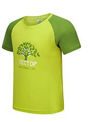 Enfant Tee-shirt de Randonnée Séchage rapide Hauts/Top pour Sport de détente Eté M d'enfant L d'enfant XS d'enfant