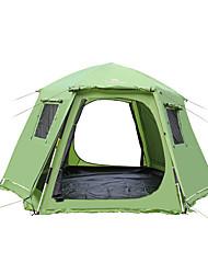 5-8 persone Tenda Tenda a cabina Doppio Tenda da campeggio Una camera Pop up tenda Ompermeabile Antivento Traspirabilità per