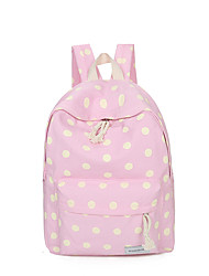 Women Bags All Seasons Canvas Backpack for Shopping Casual Sports Outdoor Green Black Pale Pink Navy Blue Light Blue