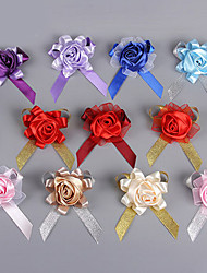 cheap -Wedding Flowers Bouquets Boutonnieres Others Artificial Flower Wedding Party / Evening Material Lace Polyester Silk Organza Satin 0-20cm