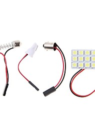 cheap -1 Set Car LED Panel Lamp 4.5W 5050 9SMD White Reading Lamp License Plate Lamp