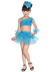Недорогие -Мы будем латинскими танцами одежды детей акриловые лук 5 штук