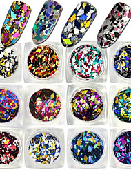 cheap -1 bottle Nail Jewelry Glitter & Poudre Other Decorations Glitters Fashion Lovely Shimmering Wedding High Quality Daily