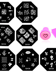 cheap -11 Stamping Plate Other Decorations Flower Fashion High Quality Daily