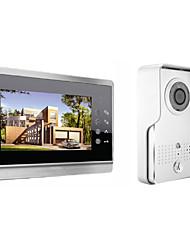 levne -actop 7inch kapacitní dotykový sceen video dveřní telefon pro vily