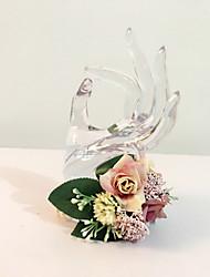 preiswerte -Hochzeitsblumen Sträuße Armbandblume Anderen Hochzeit Party / Abend Material Trockenblume 13 cm ca. 0-20cm