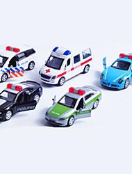 Playsets veículos Carro de Polícia Brinquedos Carro Metal Clássico Chique & Moderno 1 Peças Para Meninos Para Meninas Natal Aniversário