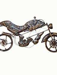 Недорогие -Декор стены Железо Металл Традиционный Ретро Предметы искусства, Металлические украшения на стену из 1