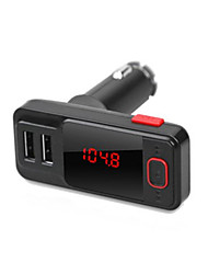 Dual USB caricabatteria per auto Bluetooth Car bt719s auto Bluetooth MP3 FM trasmettitore lettore mp3