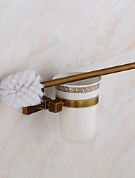 cheap -Toilet Brushes & Holders Neoclassical Others Brass