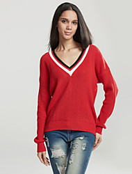 cheap -Women's Casual Cardigan - Solid Colored
