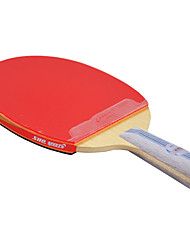 6 Stelle Ping-pong Racchette Ping Pang Gomma Manopola corta Raw gomma