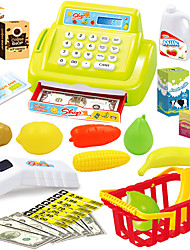 cheap -Grocery Shopping Money & Banking Toy Pretend Play Cash Register Toy Furniture Simulation Girls' Kid's Gift 1pcs