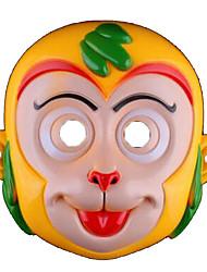 Maschere di Halloween Maschera animale Giocattoli Scimmia Tema Horror Cartoni animati 1 Pezzi Unisex Carnevale Giornata universale