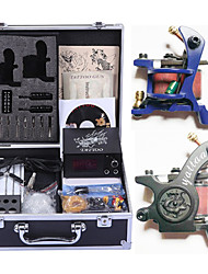 Professional Tattoo Kit 2 cast iron machine liner & shader 2 Tattoo Machine Inks Not Included