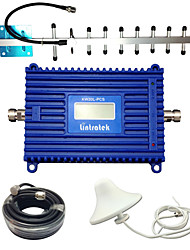 cheap -Lintratek Cell Booster GSM 1900MHz UMTS1900 Cell Phone Amplifier Yagi 3G Repeater LCD Cell Phone Signal Booster Kit For AT&T/MTS/Bell Mobility/Telcel