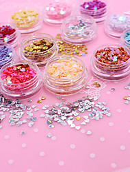 500 Unha Arte Decoração strass pérolas maquiagem Cosméticos Designs para Manicure