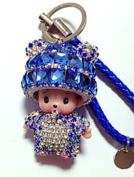 cheap -Dolls Key Chain Toys Toys Crystal Cartoon Lovely 1 Pieces Boys' Girls' New Year Birthday Carnival Gift