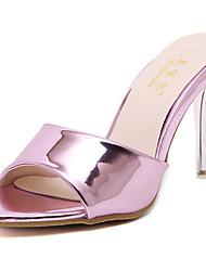 economico -Da donna Sandali Club Shoes Estate Vernice Formale Basso Oro Viola 7,5 - 9,5 cm
